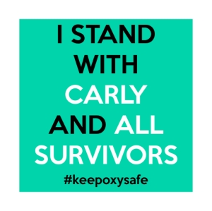 I Stand with Carly and All Survivors